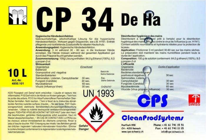 Händedesinfektionsmittel CP34
